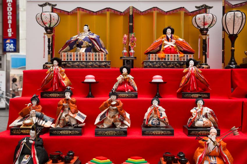 Doll's Festival in Japan